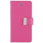Θήκη Mercury/Goospery/Rich Diary για iPhone 6/6S Ροζ