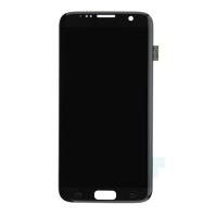 Οθόνη Για Samsung SM-G935F Galaxy S7 Edge Με Τζάμι Μαύρη