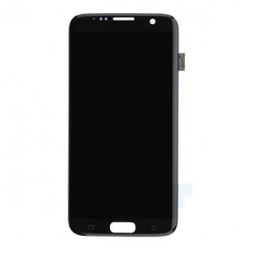 Γνήσια Οθόνη LCD Για Samsung SM-G935F Galaxy S7 Edge Μαύρη GH97-18533A