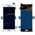 Γνήσια Οθόνη LCD Για Samsung A3 SM-A310F 2016 Λευκό GH97-18249A
