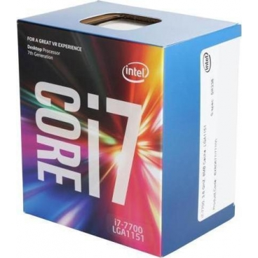 Intel Core i7-7700 3,60Ghz Box, BX80677I77700
