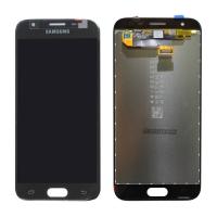 Γνήσια Οθόνη με Μηχανισμό Αφής Για Samsung J3 SM-J330F 2017 Μαύρο GH96-10969A