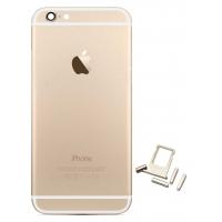 Πίσω Καπάκι/Back Cover Για iPhone 6S Gold
